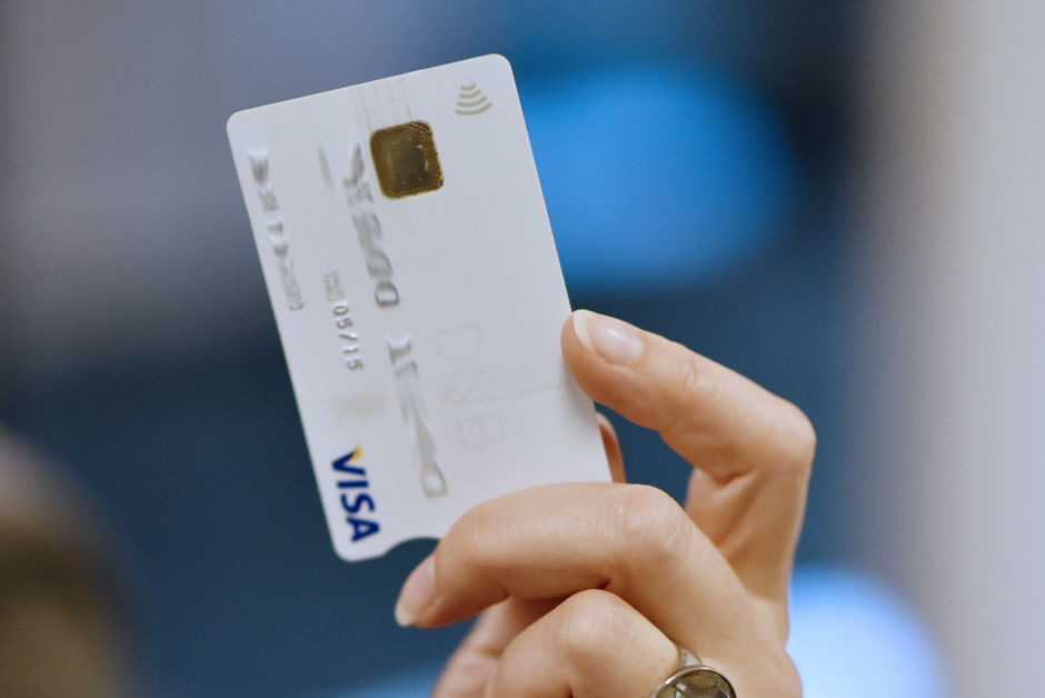 NFC Kontaktløs betaling kortterminal kortleser NAYAX .Foto