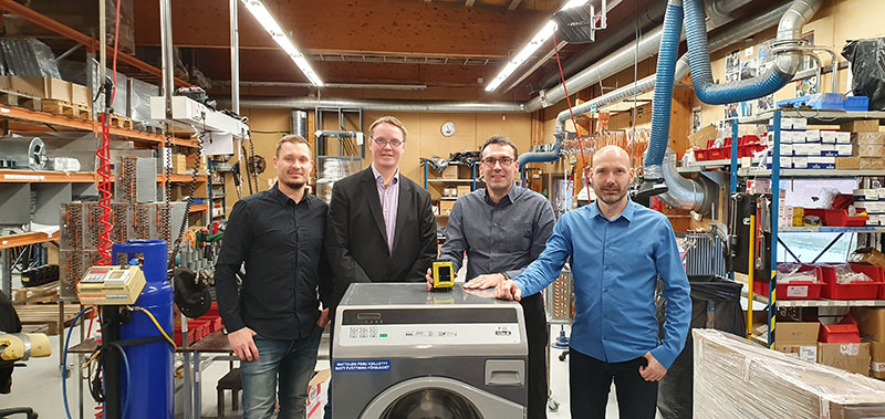 EBS Digital Finland har inngått avtale med Esteri Laundry Machines Oy