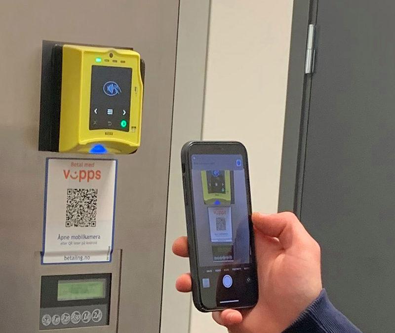 EBS Digital lanserer Vipps-Nayax