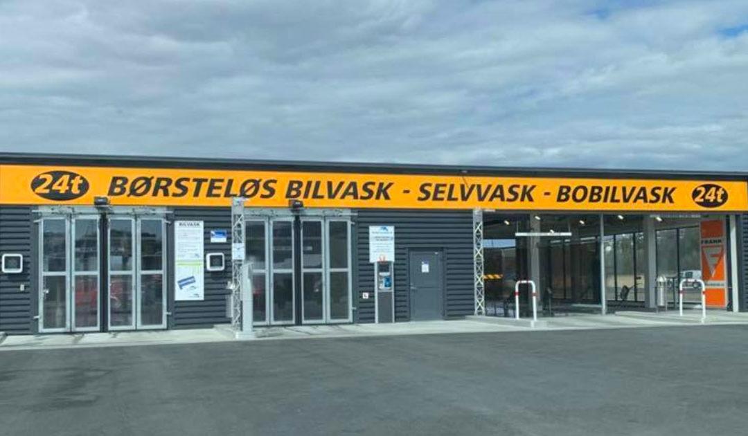 Kontaktløs betaling hos Østfold Autovask