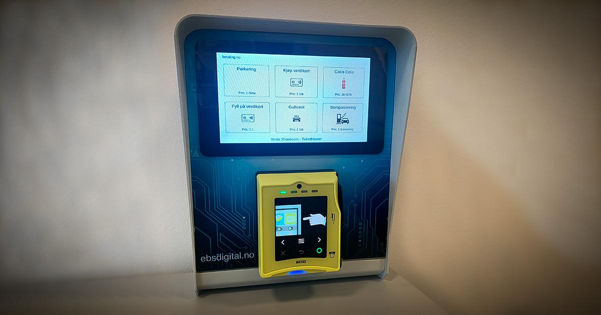 EBS Uni-X betalingsløsning med Touchskjerm